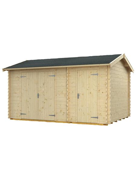 SKANHOLZ Gartenhaus »Flexi«, BxT: 460 x 240 cm (Aufstellmaße), Spitzdach