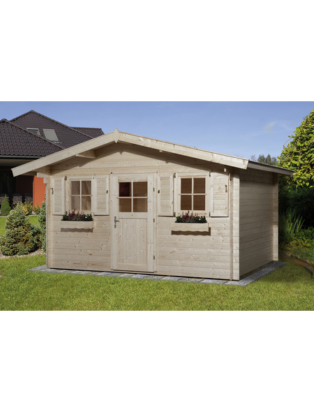 WEKA Gartenhaus »Gartenhaus 110 Gr.2«, BxT: 460 x 450 cm, Satteldach