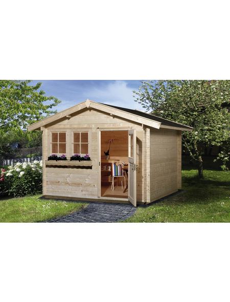 WEKA Gartenhaus »Gartenhaus 139 Gr.1«, BxT: 380 x 280 cm, Satteldach