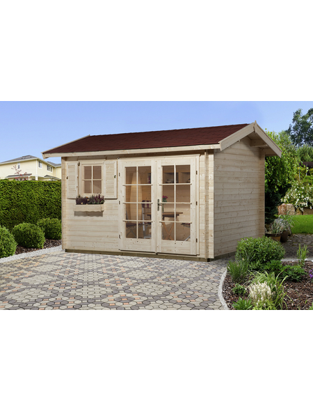 WEKA Gartenhaus »Gartenhaus 163 Gr.1«, BxT: 410 x 300 cm, Satteldach