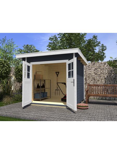 WEKA Gartenhaus »Gartenhaus 179 Gr.4«, BxT: 356 x 375 cm, Flachdach