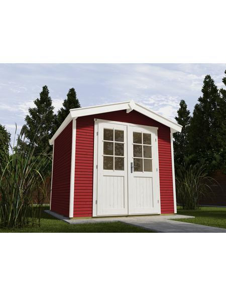 WEKA Gartenhaus »Gartenhaus 218 Gr.1«, BxT: 260 x 235 cm (Aufstellmaße), Satteldach