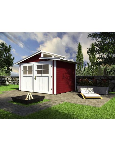 WEKA Gartenhaus »Gartenhaus 226 Gr.2«, BxT: 267 x 261 cm, Pultdach