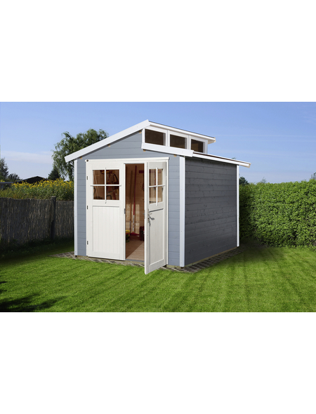 WEKA Gartenhaus »Gartenhaus 226 Gr.4«, BxT: 327 x 321 cm (Aufstellmaße), Pultdach