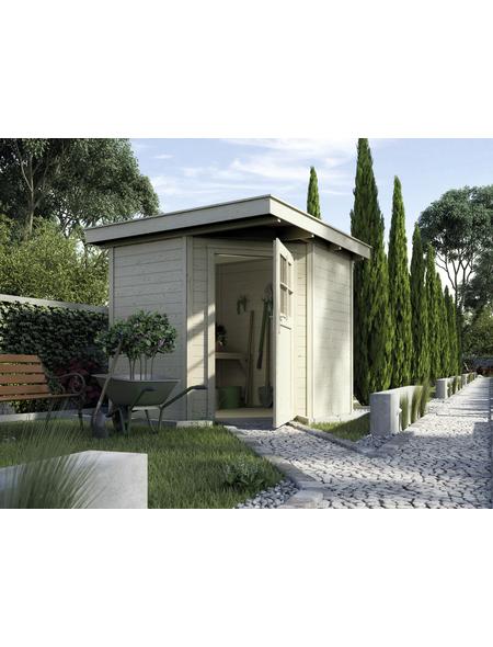 WEKA Gartenhaus »Gartenhaus 229 Gr.1«, BxT: 244 x 244 cm, Flachdach