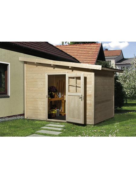 WEKA Gartenhaus »Gartenhaus 260 Gr.1«, BxT: 297 x 246 cm, Pultdach