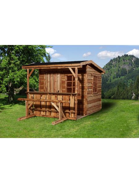 WEKA Gartenhaus »Gartenhaus 820 A Gr.2«, BxT: 340 x 400 cm, Satteldach
