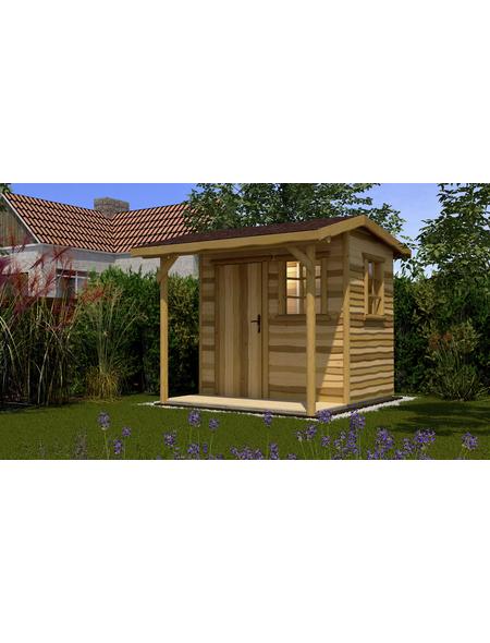 WEKA Gartenhaus »Gartenhaus 820 Gr.2«, BxT: 340 x 400 cm, Satteldach
