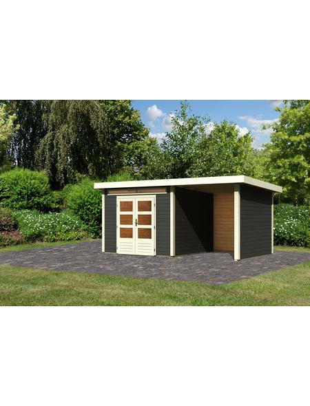 WOODFEELING Gartenhaus »Kandern 6«, BxT: 552 x 303 cm (Aufstellmaße), Pultdach