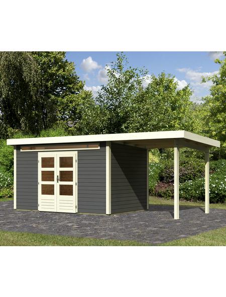 WOODFEELING Gartenhaus »Kandern«, BxT: 360 x 240 cm (Aufstellmaße), Pultdach