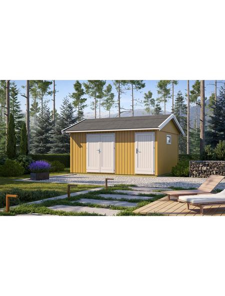 LASITA MAJA Gartenhaus »Nordic«, BxT: 490 x 438 cm, Satteldach