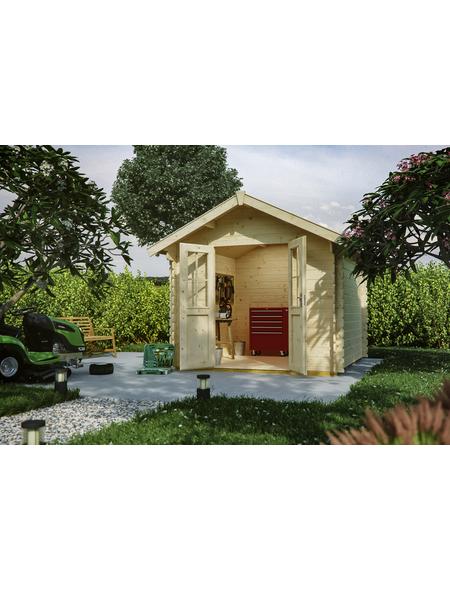SKANHOLZ Gartenhaus »Palma 1«, B x T: 280 x 255 cm