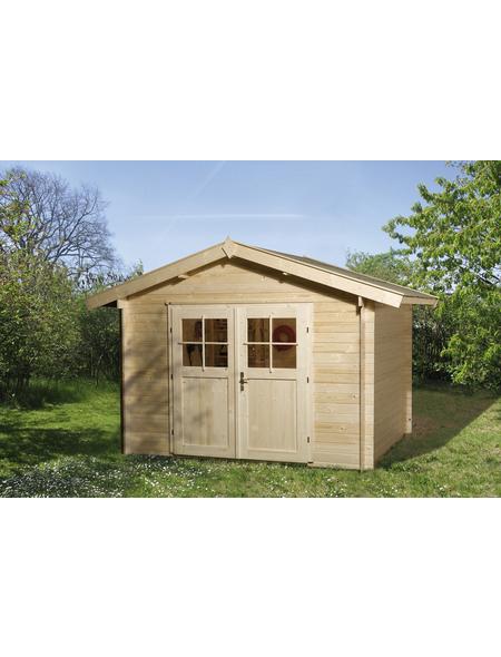 WEKA Gartenhaus »Premium«, BxT: 380 x 330 cm, Satteldach