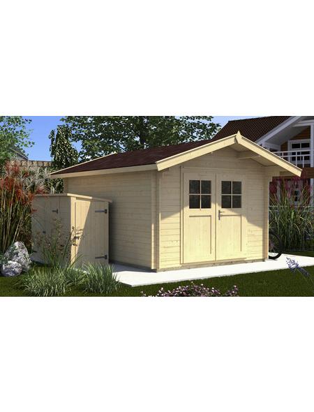 WEKA Gartenhaus »Premium«, BxT: 380 x 370 cm (Aufstellmaße), Satteldach