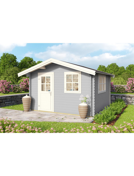 LASITA MAJA Gartenhaus »Spree«, BxT: 340 x 363 cm (Aufstellmaße), Satteldach