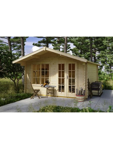 SKANHOLZ Gartenhaus »Stavanger 2«, B x T: 420 x 480 cm