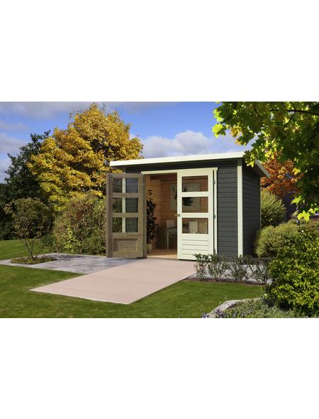 WOODFEELING Gartenhaus »Stockach«, BxT: 282 x 282 cm (Aufstellmaße), Pultdach