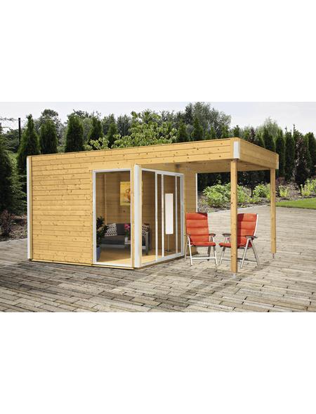 WOLFF FINNHAUS Gartenhaus »Studio 44-B«, BxT: 524 x 320 cm, Flachdach