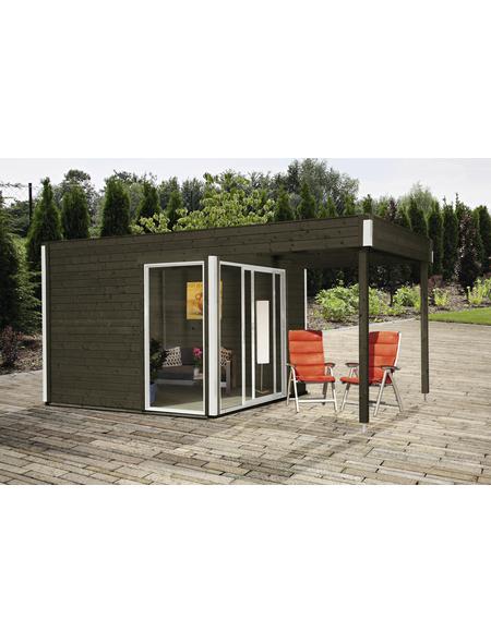 WOLFF FINNHAUS Gartenhaus »Studio«, BxT: 524 x 320 cm, Flachdach