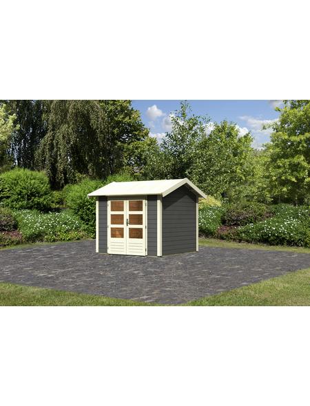 WOODFEELING Gartenhaus »Talkau 3«, BxT: 270 x 288 cm (Aufstellmaße), Satteldach
