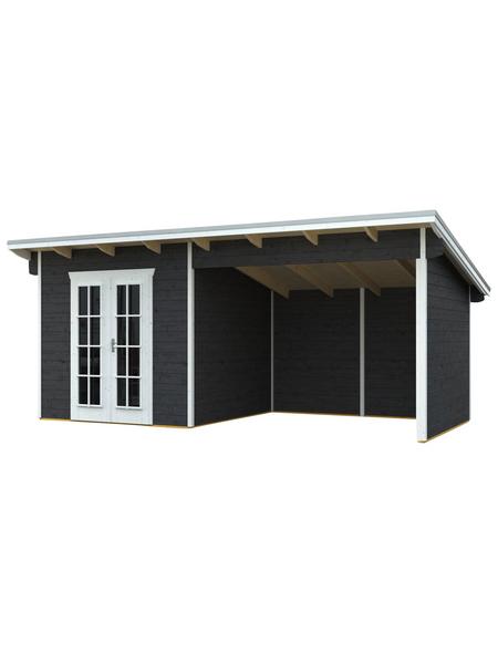 SKANHOLZ Gartenhaus »Texel«, BxT: 590 x 310 cm (Aufstellmaße), Pultdach