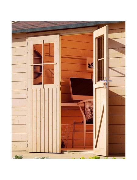 WOODFEELING Gartenhaus »Tintrup«, B x T: 396 x 273 cm, Pultdach