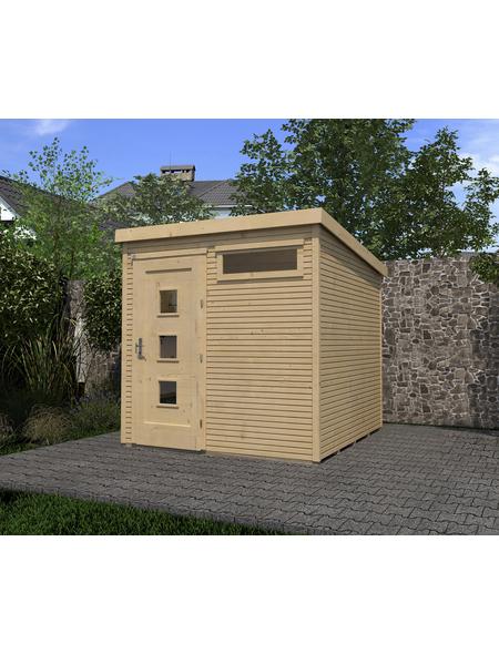 WEKA Gartenhaus »Typ 171 Gr.2«, BxT: 308 x 313 cm, Flachdach
