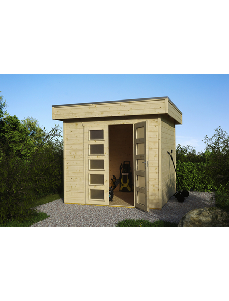 SKANHOLZ Gartenhaus »Venlo 1«, B x T: 290 x 290 cm