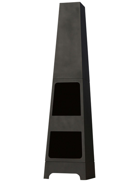 BUSCHBECK Gartenkamin »Malmö«, Höhe: 150  cm, schwarz