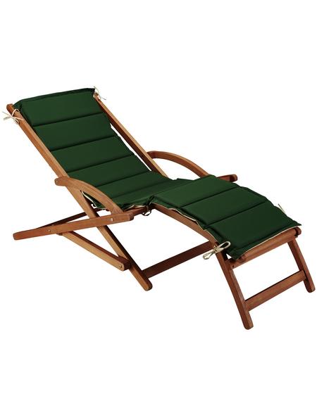 MERXX Gartenliege »Copa Cabana«, Holz + Polyester