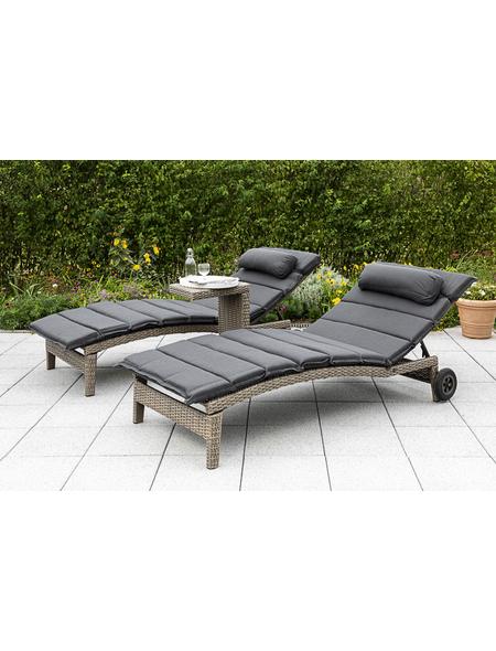MERXX Gartenliegen-Set »Adalusia«, 2 Sitzplätze, inkl. Auflagen
