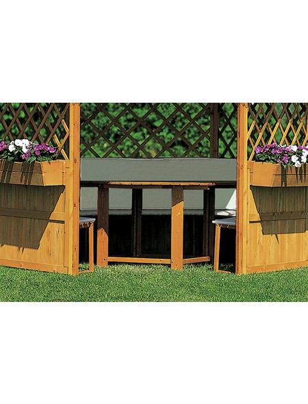 PROMADINO Gartenmöbel, 5 Sitzplätze, Kiefer
