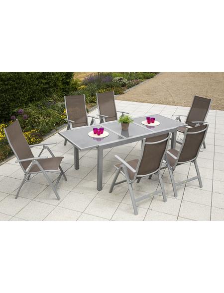MERXX Gartenmöbel »Carrara«, 6 Sitzplätze