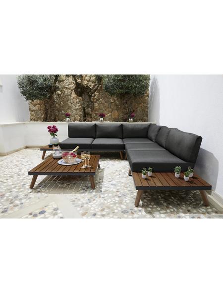Gartenmöbel-Eckset »Athen«, 5 Sitzplätze, inkl. Auflagen