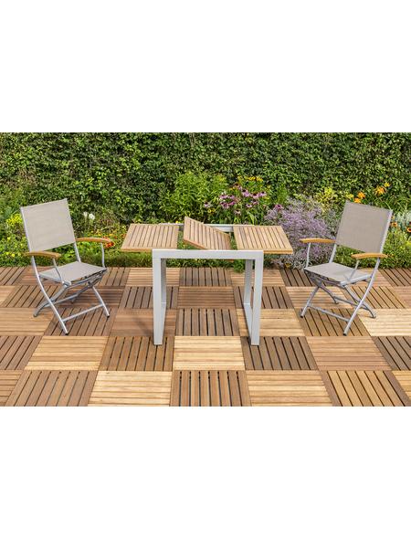 MERXX Gartenmöbel »Naxos«, 2 Sitzplätze, aus Akazienholz