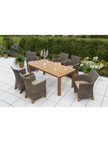 MERXX Gartenmöbel »Toskana«, 6 Sitzplätze, inkl. Auflagen