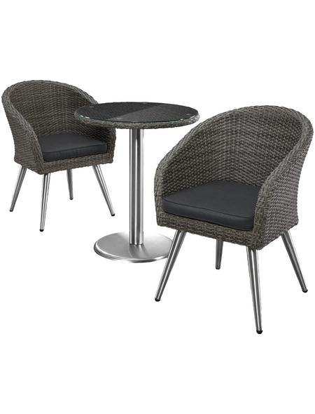 MERXX Gartenmöbelset, 2 Sitzplätze