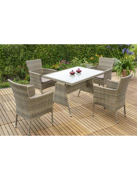 MERXX Gartenmöbelset, 4 Sitzplätze