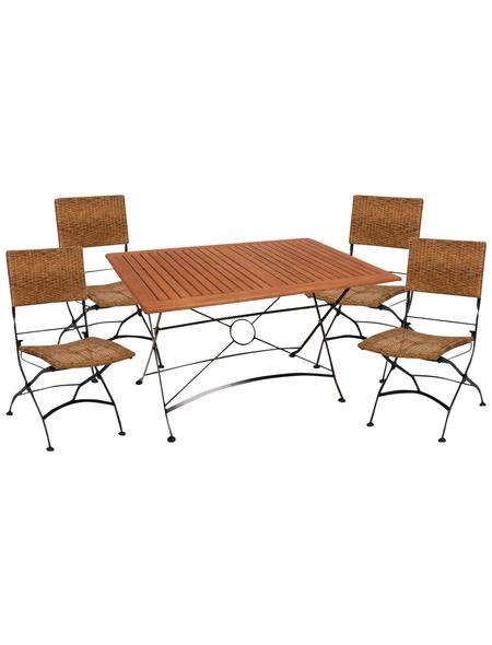 Gartenmöbelset, 4 Sitzplätze