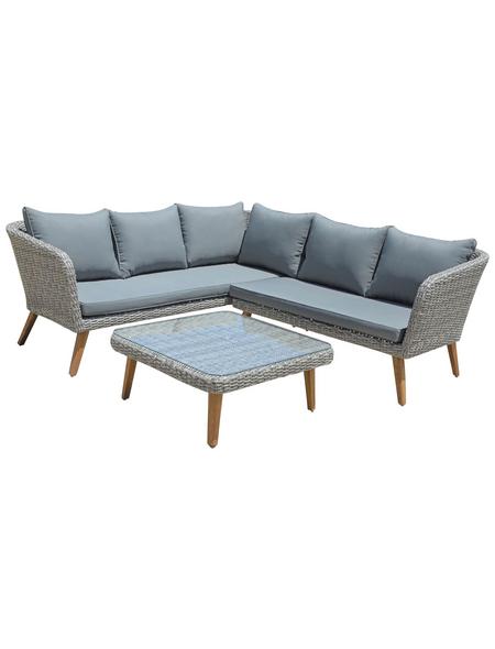 GARDEN PLEASURE Gartenmöbelset, 5 Sitzplätze