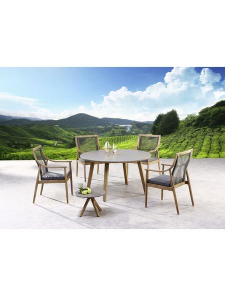 BEST Gartenmöbelset »Barletta«, 4 Sitzplätze, inkl. Auflagen