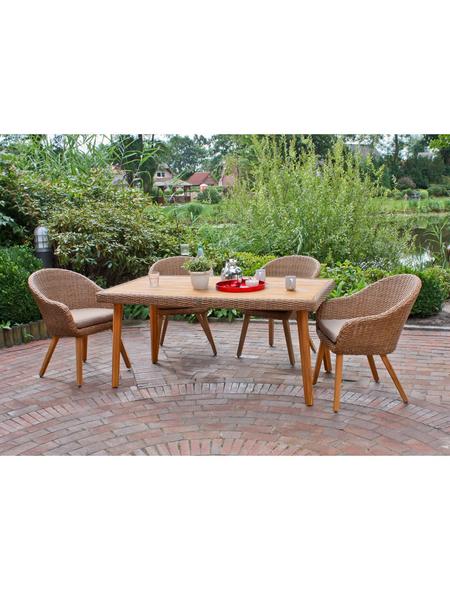 GARDEN PLEASURE Gartenmöbelset »Carson«, 4 Sitzplätze