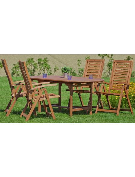 MERXX Gartenmöbelset »Cordoba«, 4 Sitzplätze