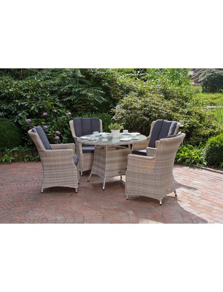 Gartenmöbelset »Dijon«, 4 Sitzplätze