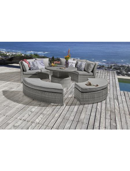 Gartenmöbelset »Fiana«, 8 Sitzplätze, inkl. Auflagen