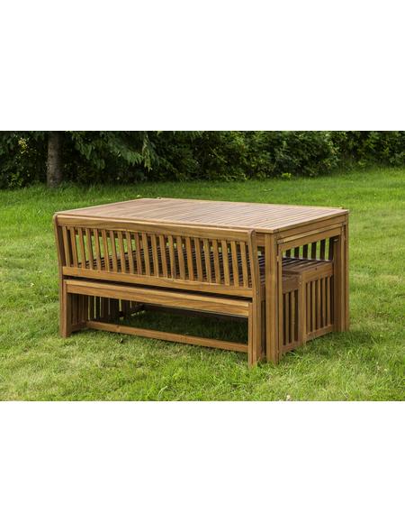 MERXX Gartenmöbelset »Hawaii«, 12 Sitzplätze, inkl. Auflagen, aus Akazienholz