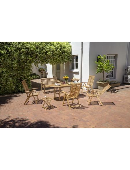 Gartenmöbelset »Multi-Box«, 6 Sitzplätze, aus Akazienholz