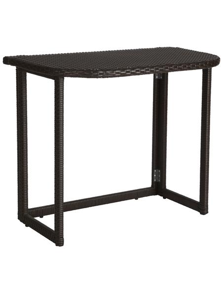 MERXX Gartenmöbelset »Rattan«, 3-Sitzer, B x T x H: 50 x 144,98 x 75 cm