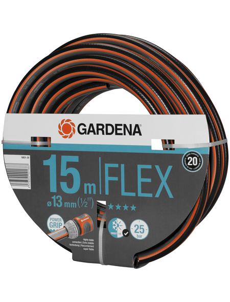 GARDENA Gartenschlauch, Durchmesser: 1/2 Zoll, Länge: 15 m, 25 bar (max.)