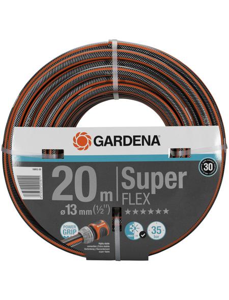 GARDENA Gartenschlauch, Durchmesser: 1/2 Zoll, Länge: 20 m, 35 bar (max.)